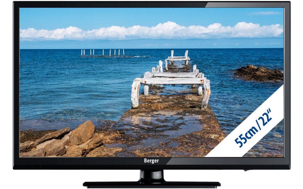 Berger Camping TV LED Fernseher Bluetooth – 22 Zoll