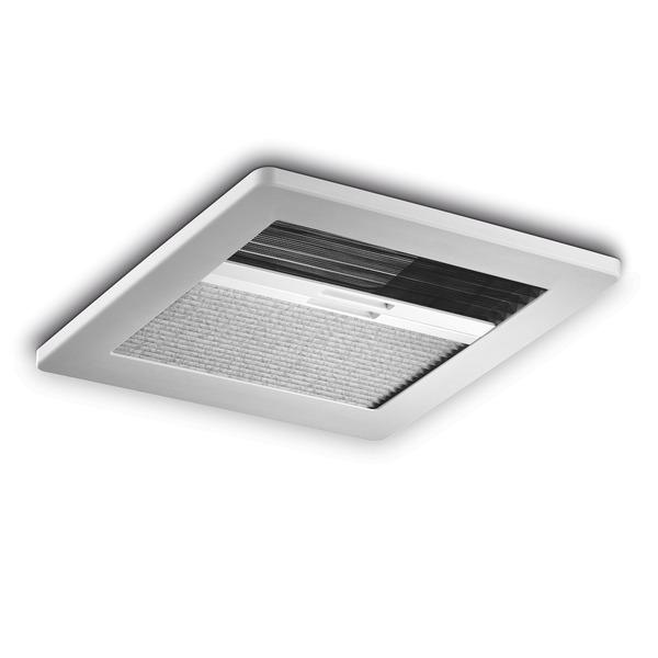 MICRO HEKI 280 x 280 mm das Dachfenster für Toilettenräume